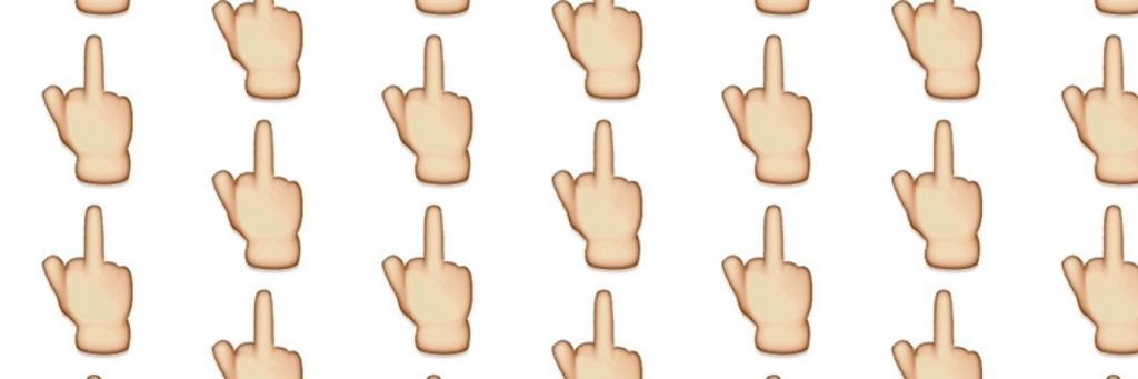 Middle Finger Emoji Can Land You in Jail in UAE - Edited Daily