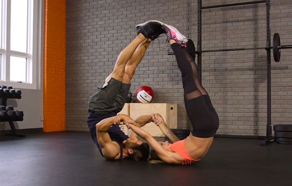 how to train your abs at home