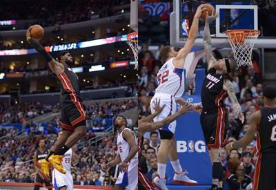Video: LeBron James Out-Dueled Blake Griffin In Re-DUNK ...  Blake