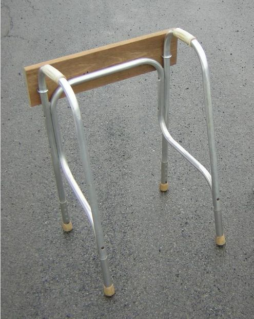 Outboard motor stand from walker for Large outboard motor stand