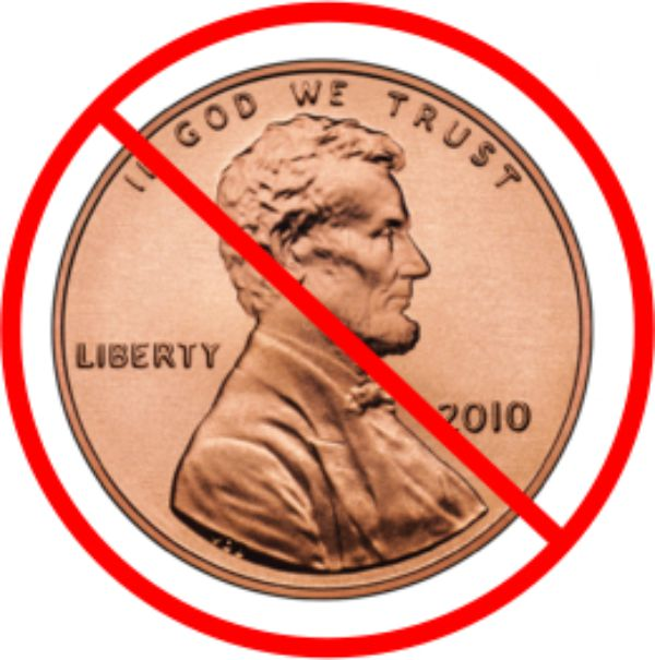 get rid of the penny We should definitely get rid of the penny it is a prime example of government waste and it's irrational behavior a single penny costs 165 cents in parts and labor to produce.