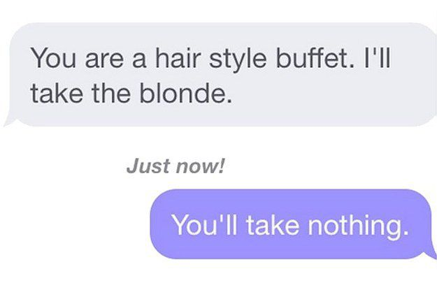 Responses for online dating