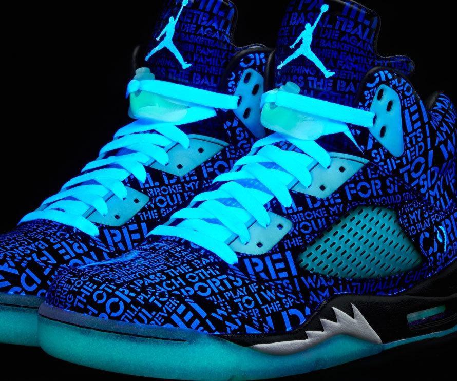 Glow Up Shoes Jordans