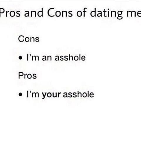 Dating pros and cons