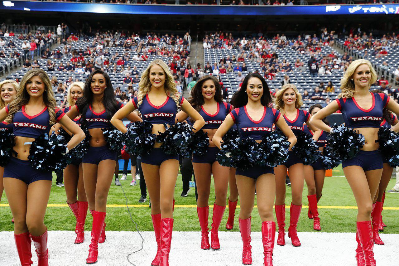 Cheer Texans Vs Chargers
