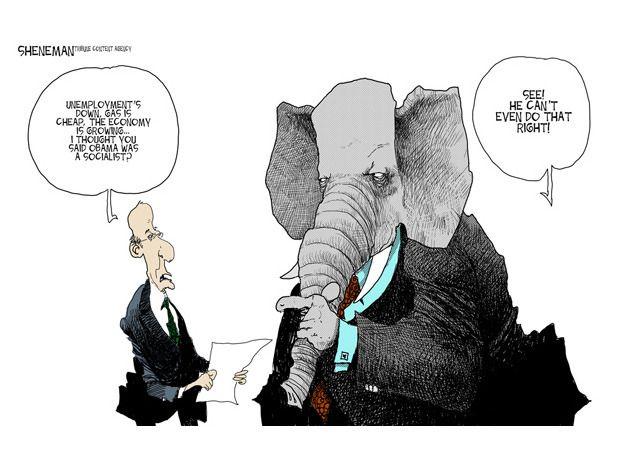 Steve Nease Editorial Cartoons: Socialism Wave: Oakville Images