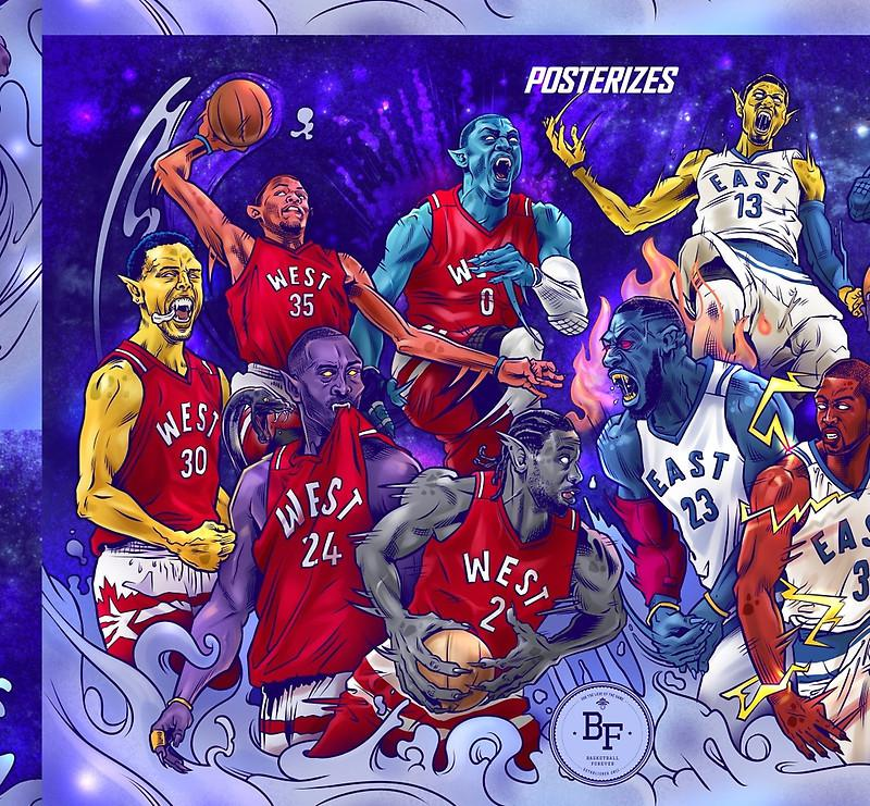 NBA All-Star MonStars 2.0! by bballforever