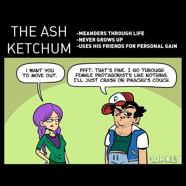 The Anime Characters You Ll Date The Ash Ketchum Pokemon