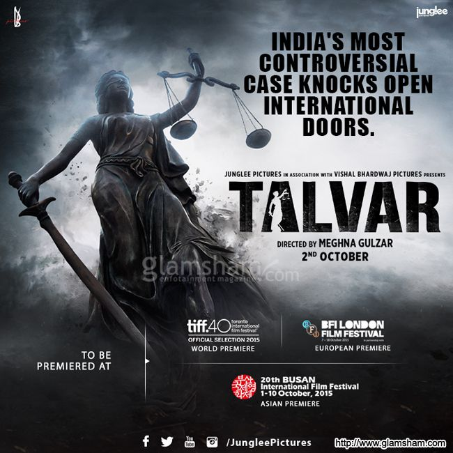 Talvar Movie Poster # 1 : glamsham.com