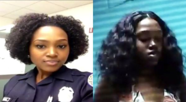 This Miami Lady Cop Could Lose Her Job For Getting Busy In -5669
