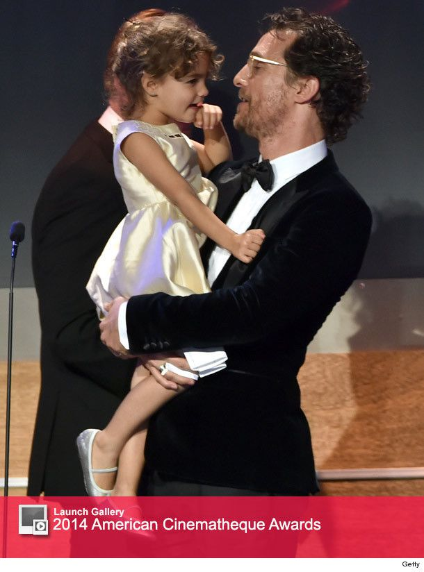 Matthew McConaughey s Daughter Steals the Show at American    Matthew Mcconaughey Daughter