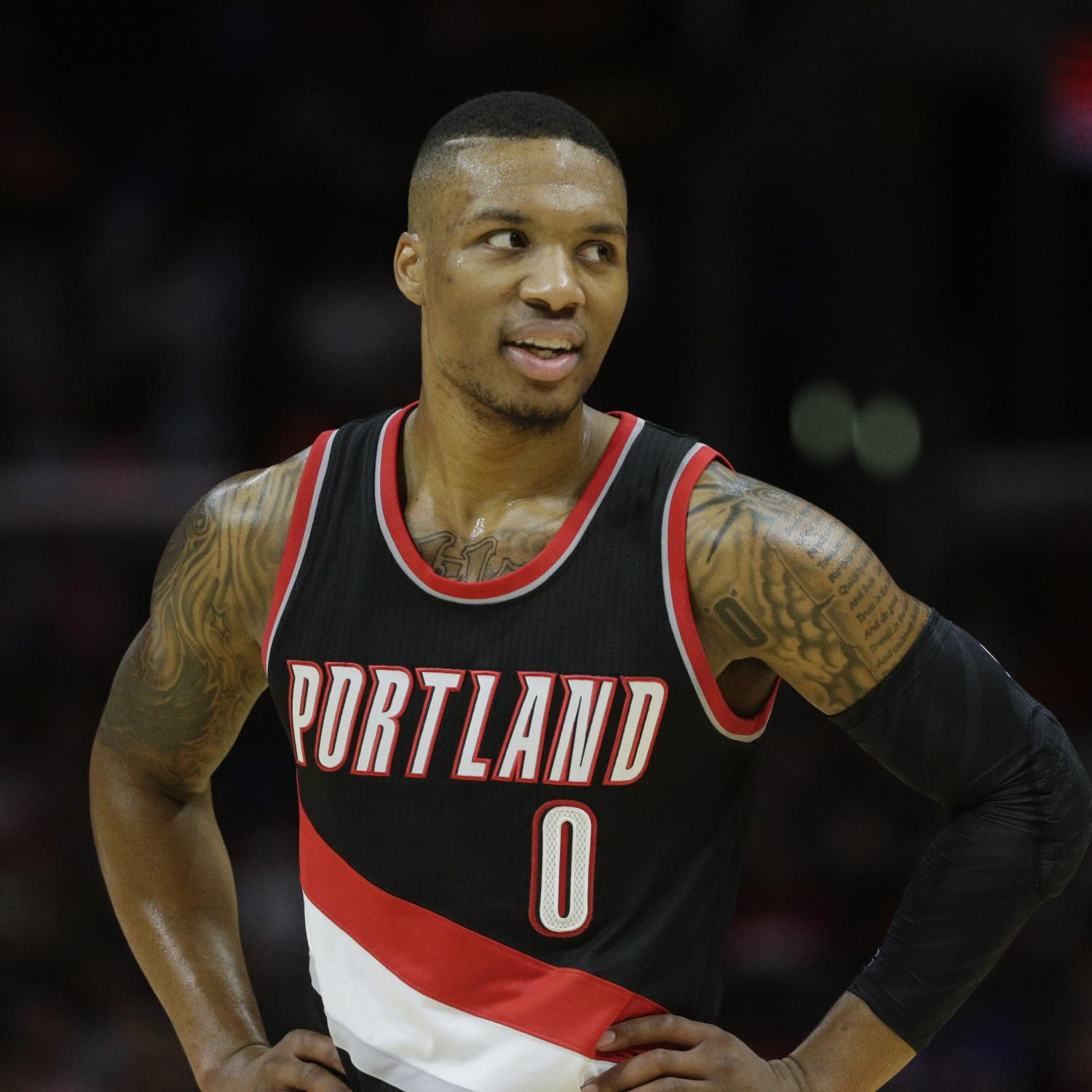Damian Lillard: Damian Lillard Evaporated Some Poor, Foolish Lakers Fan On