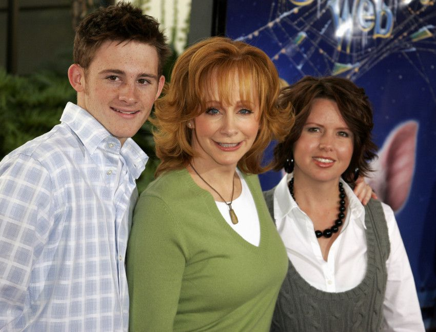 Reba mcentire shares the heartbreaking story pray for for How many kids does reba mcentire have