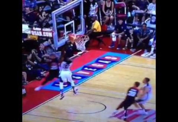 Paul George Snaps Leg in Half Playing Defense For Team USA ...