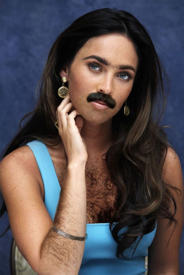 Celebrity Beards Bearded Female Celebrities