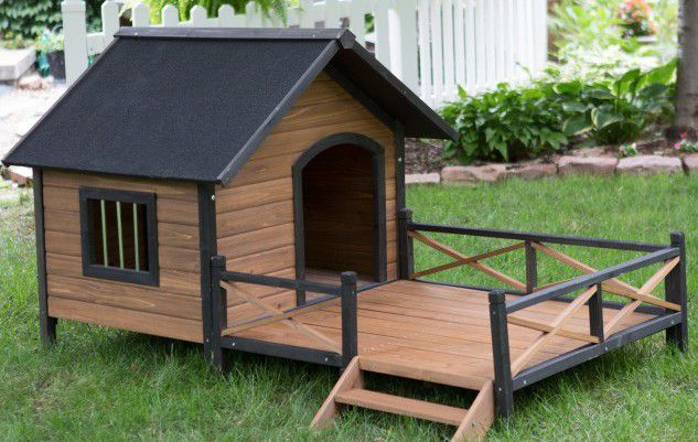 Top 10 of the coolest dog house designs architecture art for Architecture and design dog house