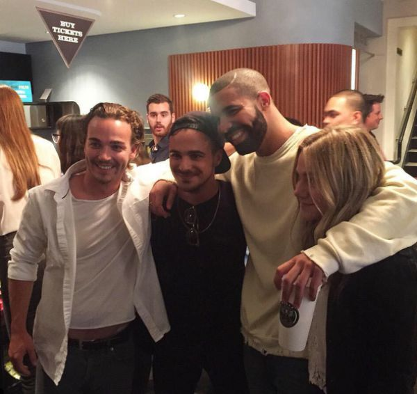 School Shooting Rap: Drake Reunited With His 'Degrassi' Co-Stars Last Night In