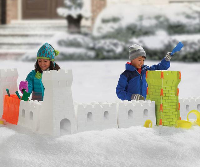 Outdoor Construction Toys : Snow fort building set