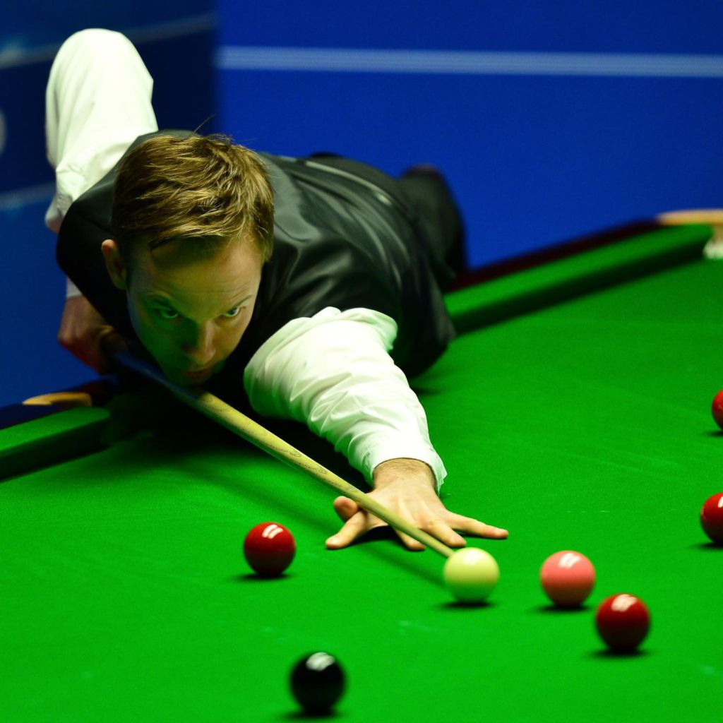 snooker world championship latest score