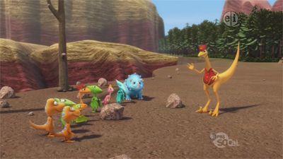 Dinosaur Train Citj Turtle And Therapod Race Hungry Carnivores Season 3 Episod