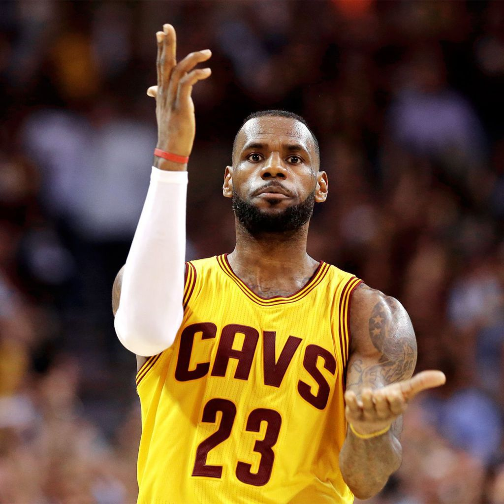 2015 Nba Playoffs Lebron James Gun Celebration Off The Mark