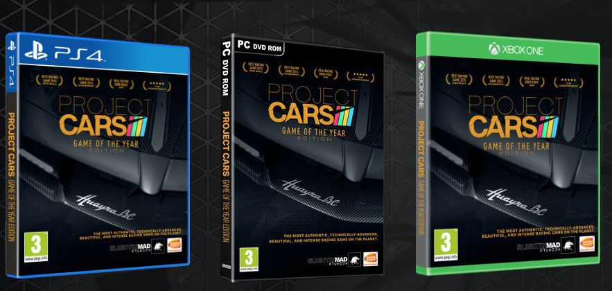 project cars game of the year edition arrives on may 6. Black Bedroom Furniture Sets. Home Design Ideas