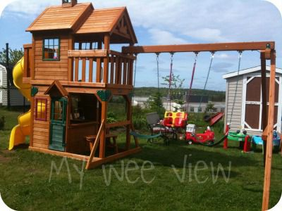 Cedar Summit Premium Play Sets Ainsley Ready To Assemble Wooden
