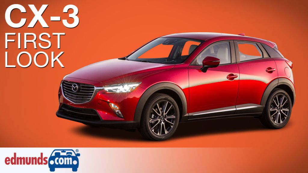 Model First Look 2016 Mazda CX3