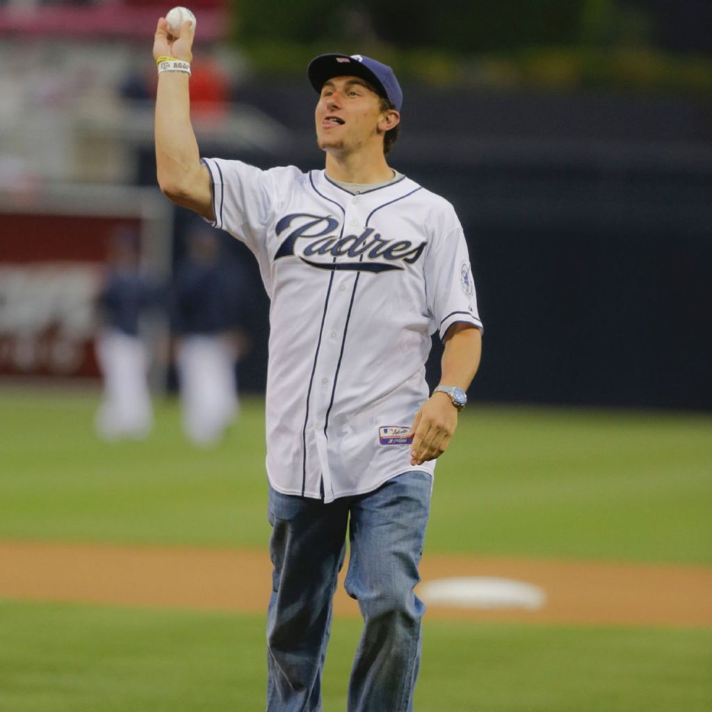 San Diego Chargers Coaching Staff: Johnny Manziel Was Johnny Baseball For San Diego Padres At