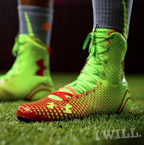 2014 Under Armour All America Football Cleats