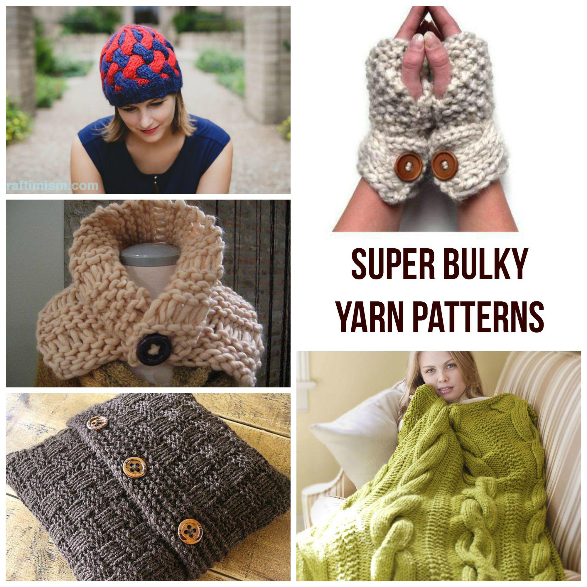 Quick Knits! Super Bulky Yarn Patterns - Craftsy