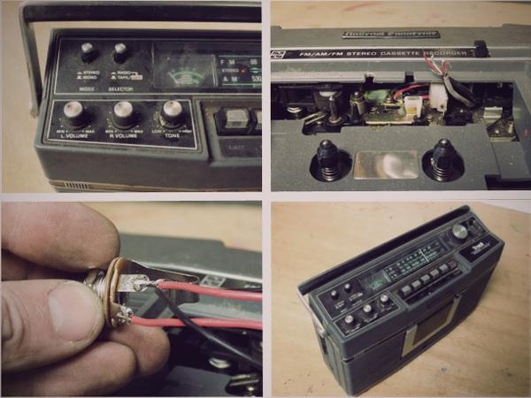 how to turn guitar amp into blue tooth speaker