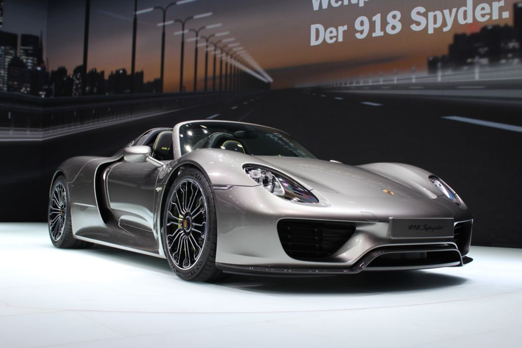 porsche 918 spyder almost sold out