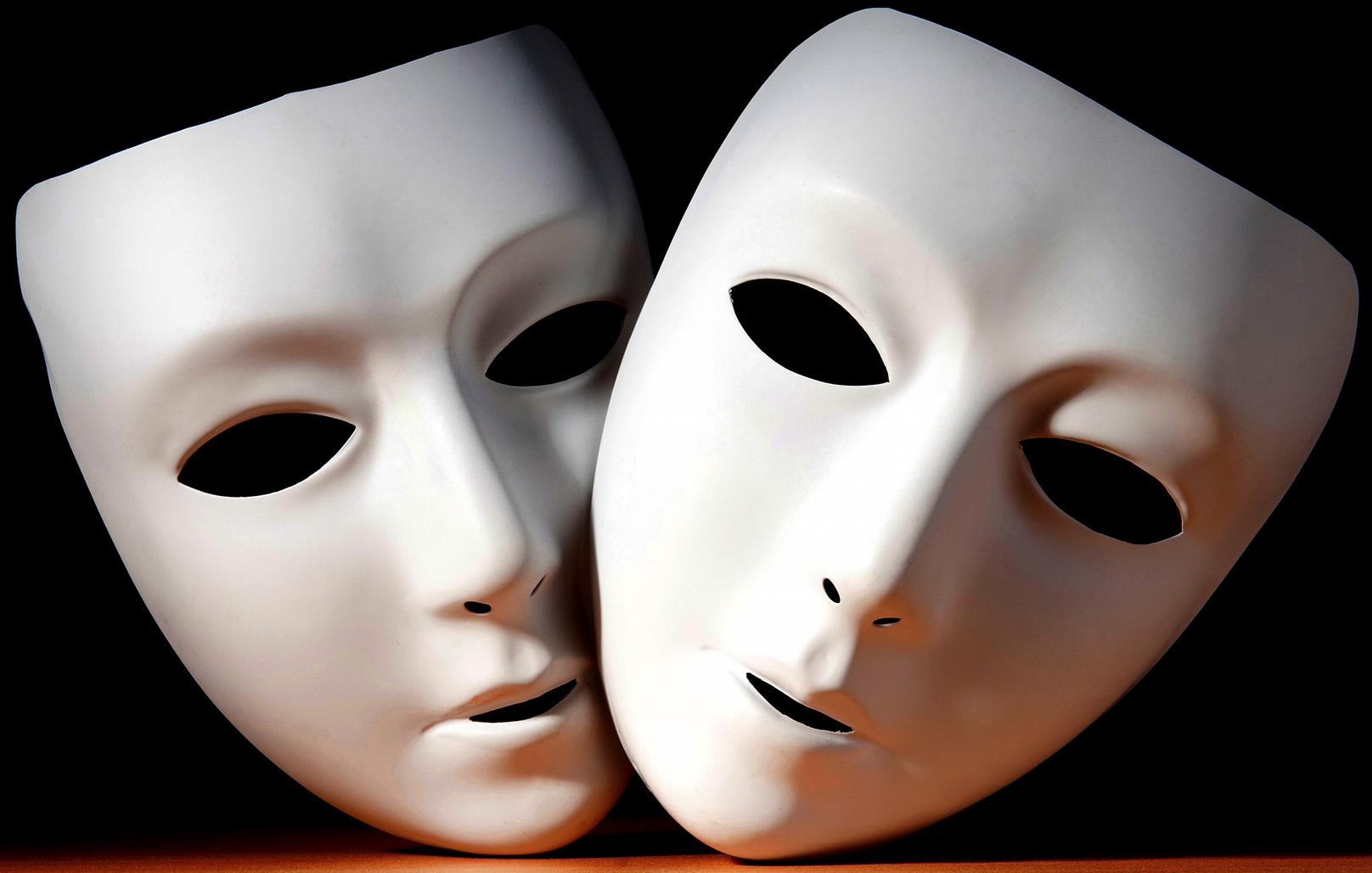 люди картинки актерских масок того, те