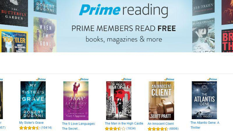It's called Prime Reading and it gives unlimited free access to top Kindle books, magazines, and comic books. In the announcement, Amazon claimed to have on the list such books as Harry Potter and the Sorcerer's Stone, Hobbit, or The Man In the High Castle, but they didn't provide the link to .