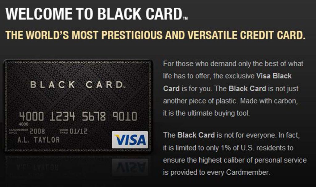 The Fake Black Card That Will Fool Your Friends