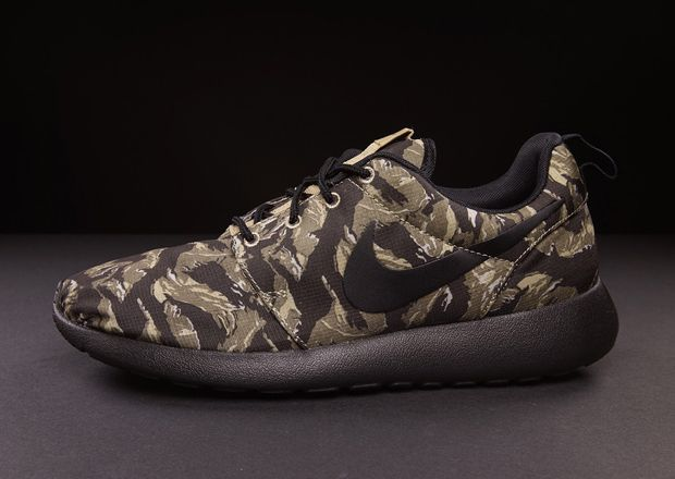 outlet store 58681 6fc9b ... nike roshe run gpx black tiger camo for sale . ...