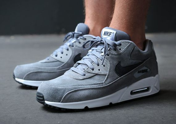 96f52950a7 Nike Air Max 90 Grey Suede extreme-hosting.co.uk