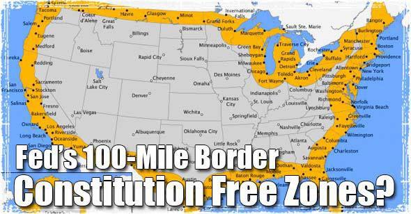 Border Patrol Interior Checkpoints: U.S. Government Moves ...