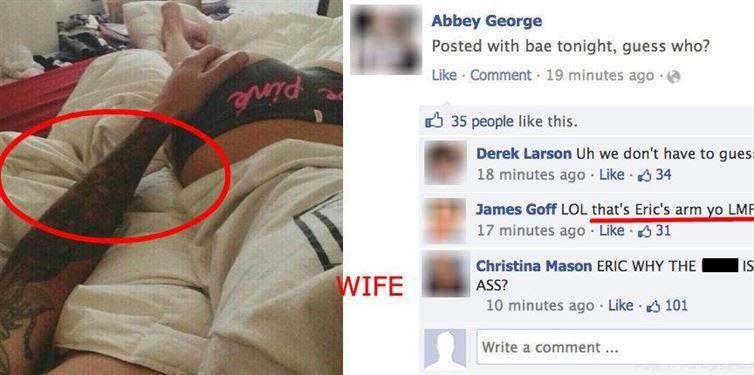20 Hilarious Facebook Breakups