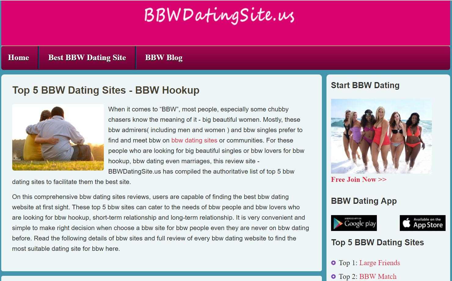 Dating apps for bbws and hot men