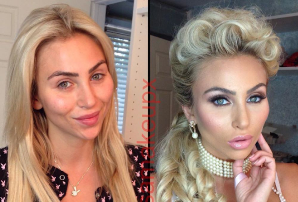 Makeup Artist Reveals What Porn Stars Look Like Before And -1911