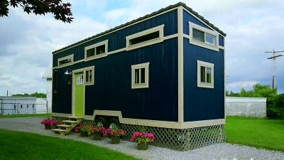 Watch 220 Sq Ft Bohemian Escape Ep 4 Tiny House Nation