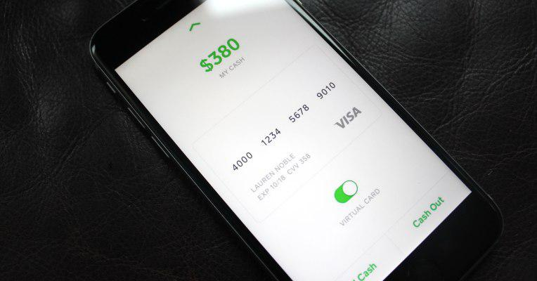 Square Cash Users Can Now Spend Their Balance With A Virtual Debit Card