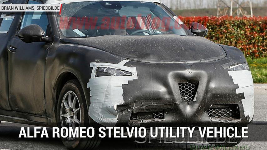 Alfa Romeo Stelvio Suv Interior Spied