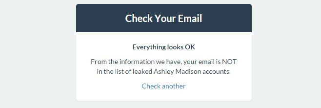 check ashley madison emails