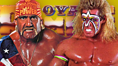 Wrestlemania Classics: Hulk Hogan vs The Ultimate Warrior ...