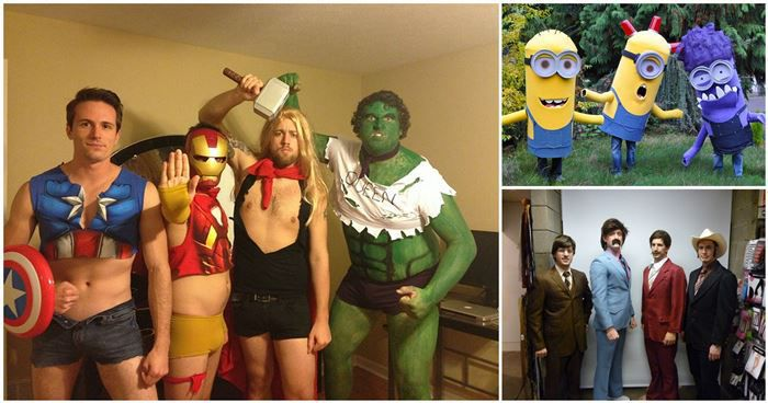 Large Group Halloween Costume Ideas.20 Best Group Halloween Costume Ideas
