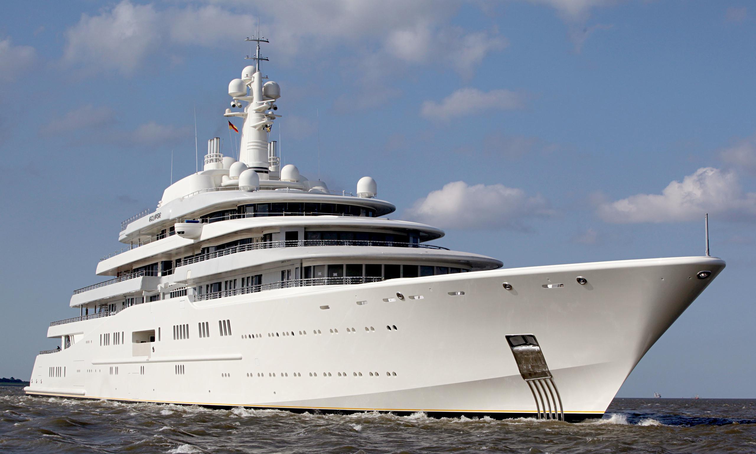 фото яхты абрамовича эклипс