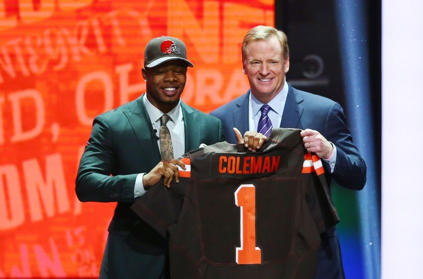 BREAKING NEWS: Browns #1 draft pick Corey Coleman decides on early retirement.